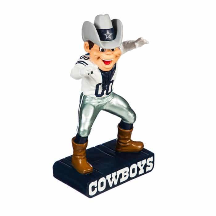 Dallas Cowboys - Mascot Statue - Front View