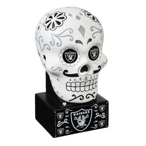 Las Vegas Raiders - Sugar Skull Head - Front