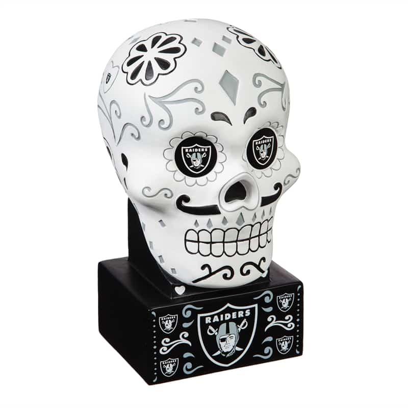 Las Vegas Raiders - Sugar Skull Head - Front
