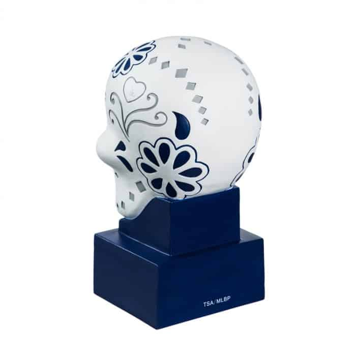 Los Angeles Dodgers - Sugar Skull Head - Back