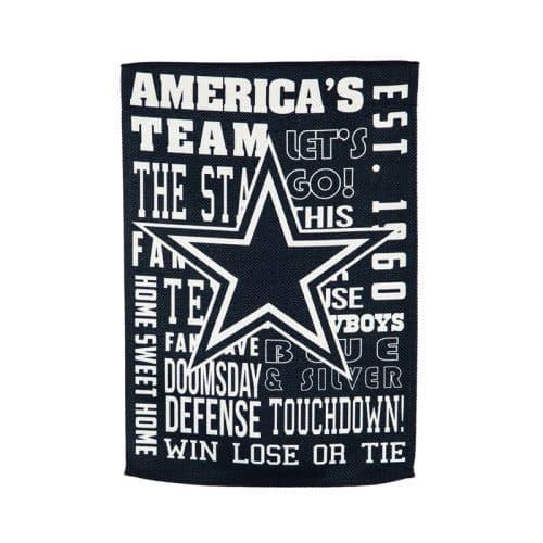 Dallas Cowboys Flag - Back