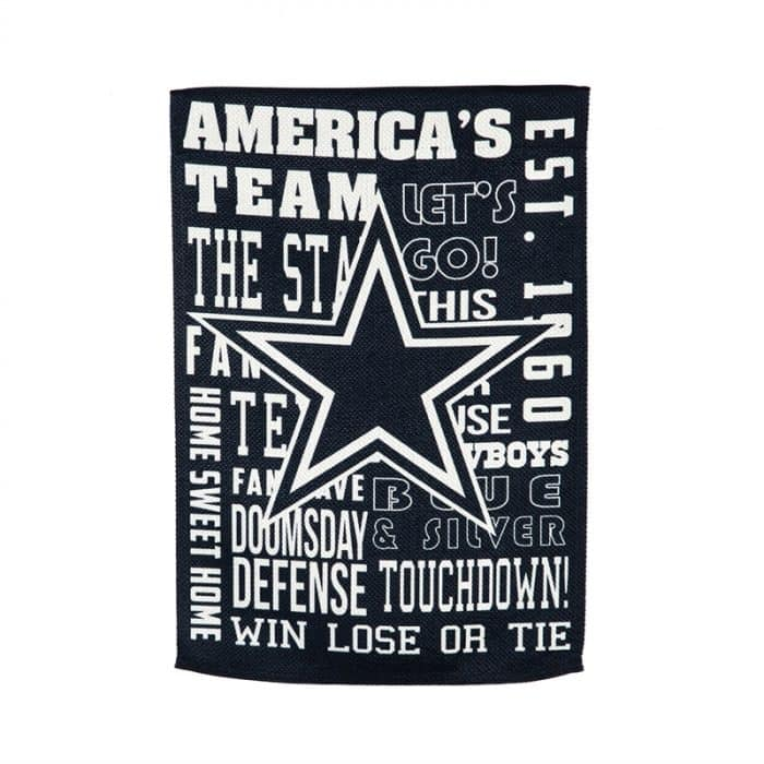 Dallas Cowboys Flag - Back