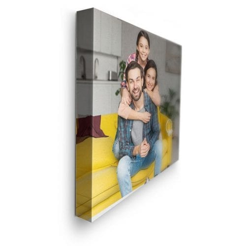 family picture - custom canvas wrap