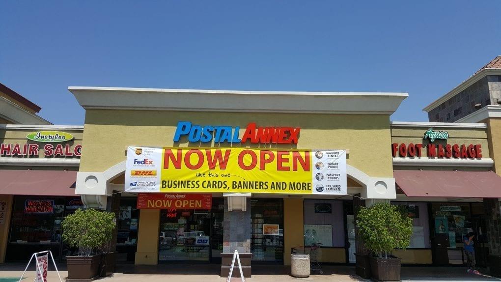 PostalAnnex of Azusa - Open Banner
